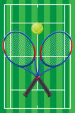Tennis vector Stock Photos