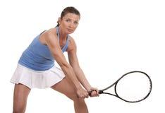 Tennis woman Stock Photo