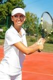 Tennis woman Royalty Free Stock Photos