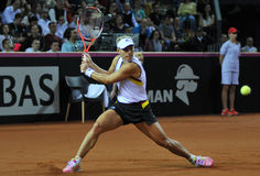 Tennis women WTA 3 ranked German player Angelique Kerber Royalty Free Stock Photo