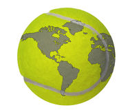 Tennis world Royalty Free Stock Photography