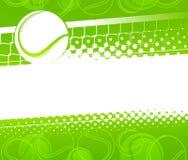 Tennisachtergrond Royalty-vrije Illustratie