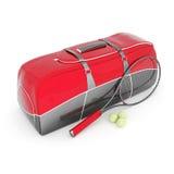 Tennisausrüstung Stockfotografie