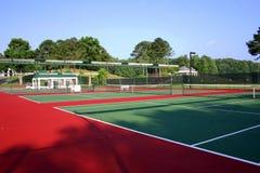 Tennisbaan Stock Foto