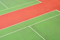 Tennisbaan Stock Afbeeldingen