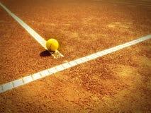 Tennisbaan 320 Royalty-vrije Stock Foto's