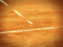 Tennisbaan l 374 Royalty-vrije Stock Afbeelding