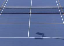 Tennisbaan van hierboven Royalty-vrije Stock Afbeeldingen