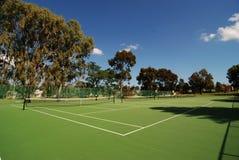 Tennisbaan wijd stock foto's