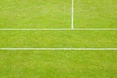Tennisbaanlijnen royalty-vrije stock foto