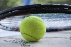 Tennisbakgrund Arkivfoton
