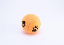 Tennisbal met poten op het Royalty-vrije Stock Fotografie