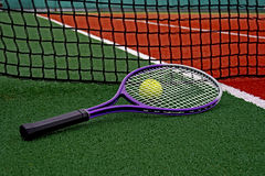 Tennisbal & racket-3 Stock Foto's
