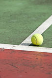 Tennisball stockbild