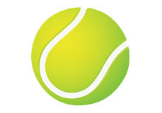 Tennisball. Vector base tennis ball. Clear and modern style Stock Images