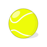 Tennisball-Illustration Stockfotografie