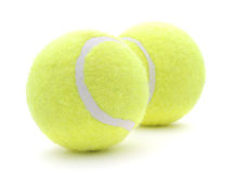 Tennisballen Royalty-vrije Stock Afbeeldingen