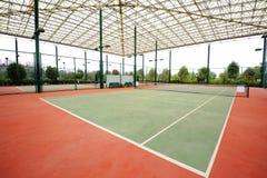 Tennisbana Royaltyfri Bild