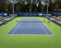 Tennisbana Flushing Meadows Corona Park, Queens, New York, USA Arkivbilder