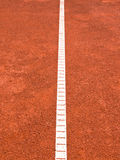 Tennisbanalinje (164) Arkivbilder