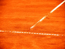 Tennisbanalinje (279) Royaltyfri Fotografi