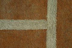 tennisbanalinjen royaltyfri foto