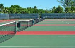 Tennisbanen royalty-vrije stock fotografie