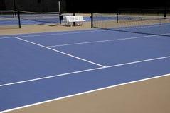 Tennisbanen Stock Foto