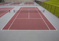 Tennisbanen Royalty-vrije Stock Foto