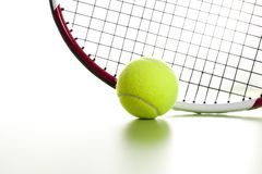 Tennisboll Royaltyfri Foto
