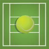 Tennisboll Arkivbilder