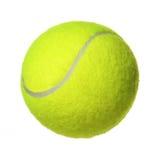 Tennisboll som isoleras på vit arkivbilder