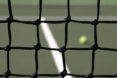 Tenniscourt Lizenzfreies Stockfoto