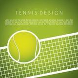 Tennisdesign Lizenzfreies Stockbild
