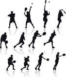 Tenniseintragfäden Lizenzfreies Stockfoto