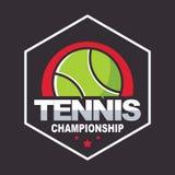 Tennisembleem vector illustratie