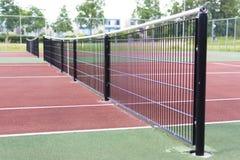 Tennisfeld Lizenzfreie Stockfotografie