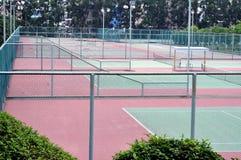 Tennisgericht Stockfotografie