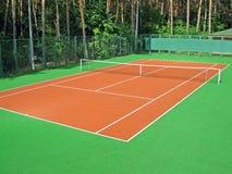 Tennisgericht Stockfoto