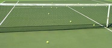 Tennisgericht. Lizenzfreie Stockfotografie