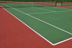 Tennisgerichte Lizenzfreie Stockfotografie