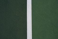 Tennisgerichtsauszug Stockbild