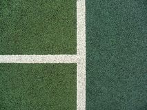 Tennisgerichtszeilen Lizenzfreie Stockfotos