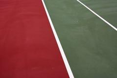 Tennisgerichtszeilen Stockbilder