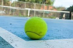 Tennishintergrund Lizenzfreie Stockfotos