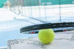 Tennishintergrund Stockfotografie