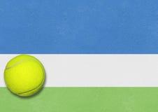 Tennishintergrund, den wir uns öffnen Stockbilder