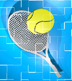 Tenniskort Royaltyfri Bild