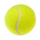 Tenniskugelausschnitt Lizenzfreies Stockfoto