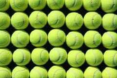 Tenniskugelhintergrund Lizenzfreie Stockfotos